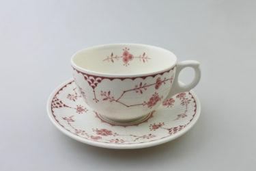 【ビンテージ】イングランド製 Franciscan Ceramics(フランシスカン)Ericaシリーズカップ&ソーサー